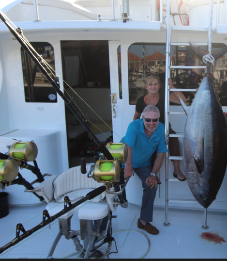 Captain Louis, specialist in blue marlin fishing in Canary islands